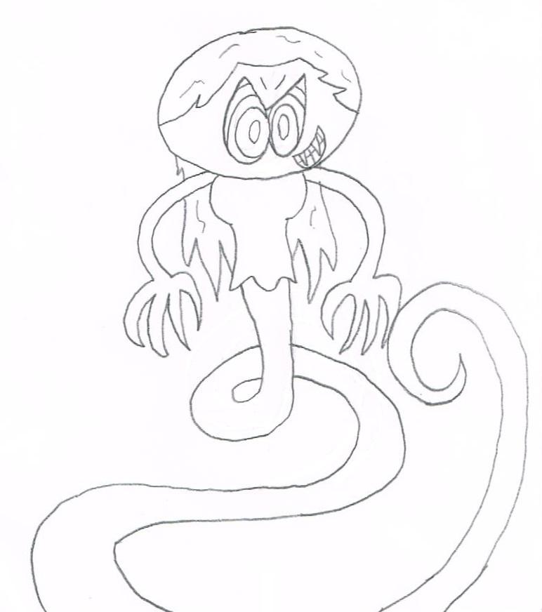 Jameson Monster - 6 (Milly) by thecrazyworldofjack