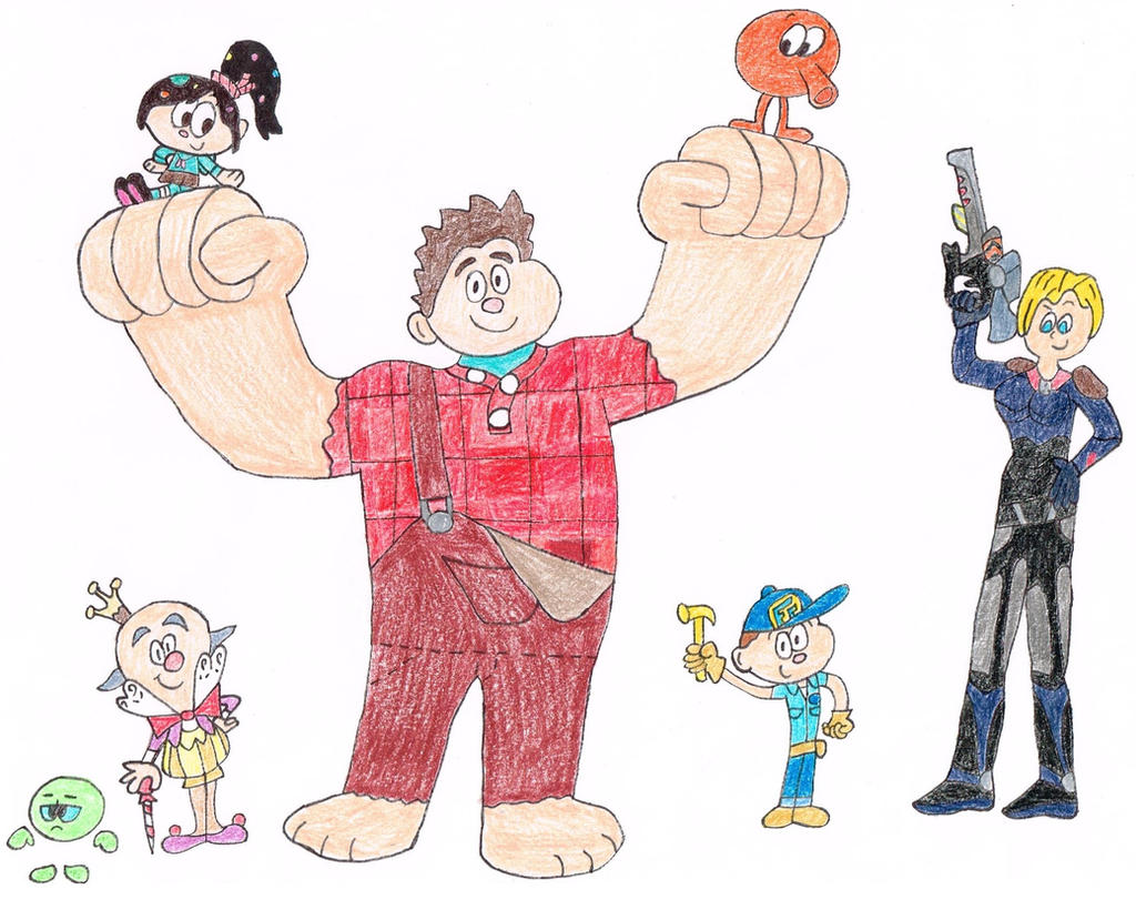 5 Years of Wreck-It Ralph (Color) by thecrazyworldofjack