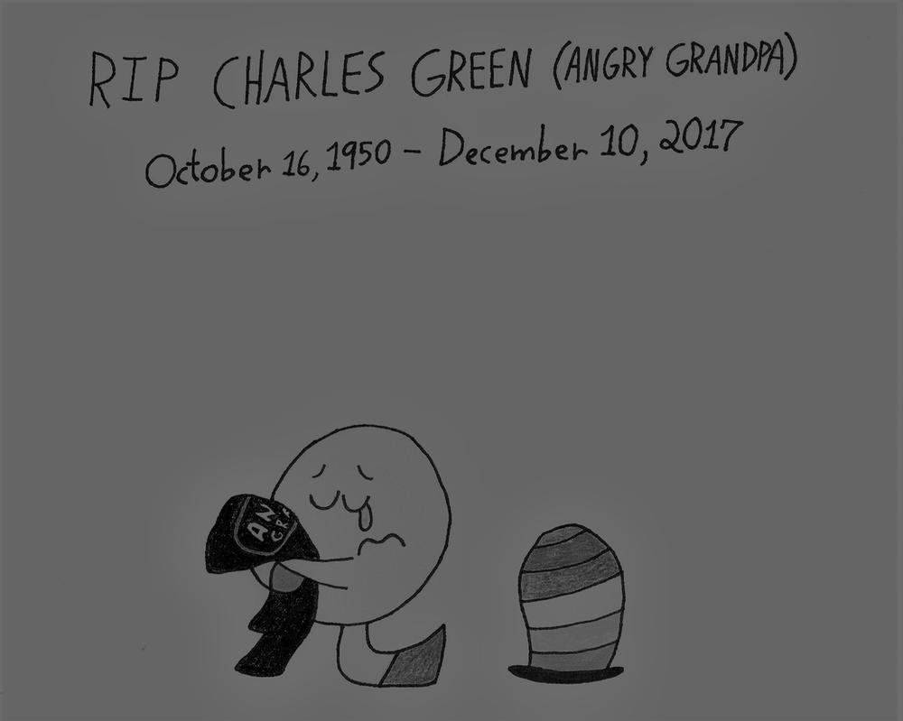 In Memory of Angry Grandpa by thecrazyworldofjack