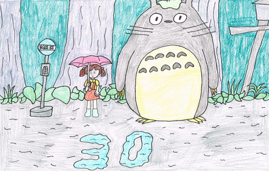 30 Years of My Neighbor Totoro by thecrazyworldofjack