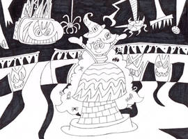 Huffingtober 15, Holli the Halloween Host by thecrazyworldofjack