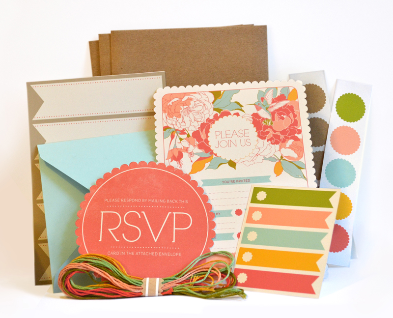 Garden Party Invitation Kit by teaganwhite