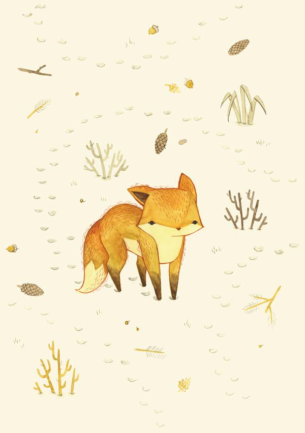 Lonely Winter Fox by teaganwhite on DeviantArt