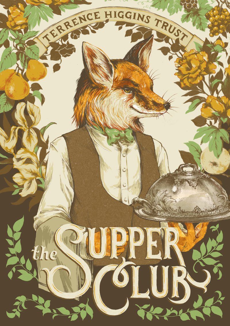 Supper Club cover illustration by teaganwhite