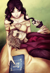 One more happy Rumbelle moment by Felidre