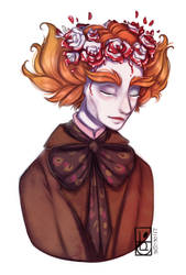 Painting the roses red by Felidre