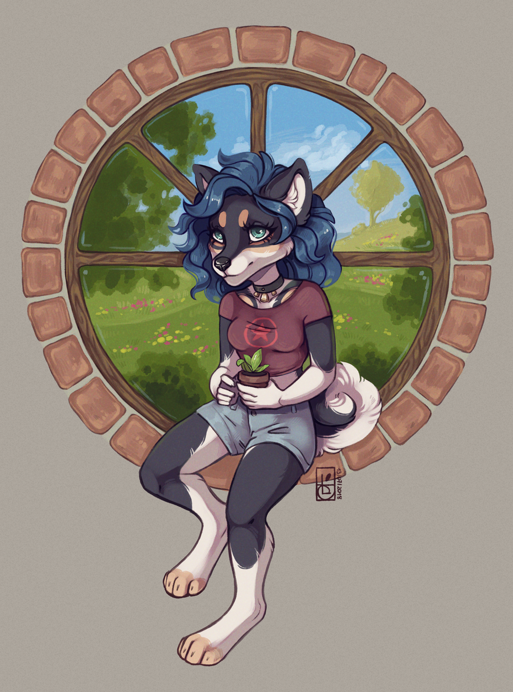 Commission for EnigmaticWisp by Felidre