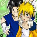 Sasuke x Naruto - Shieny