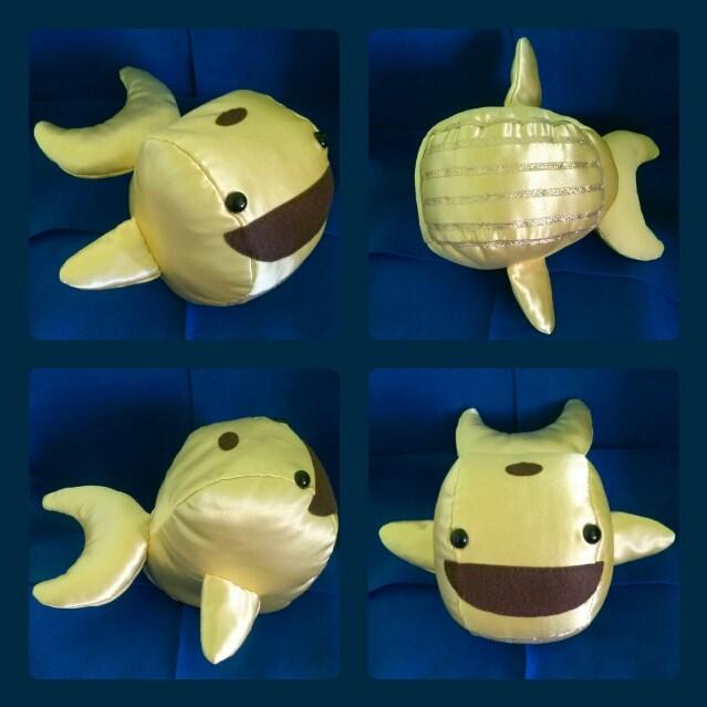 Golden whale plush by rdeguzman on deviantart golden whale plush by rdeguzman publicscrutiny Choice Image