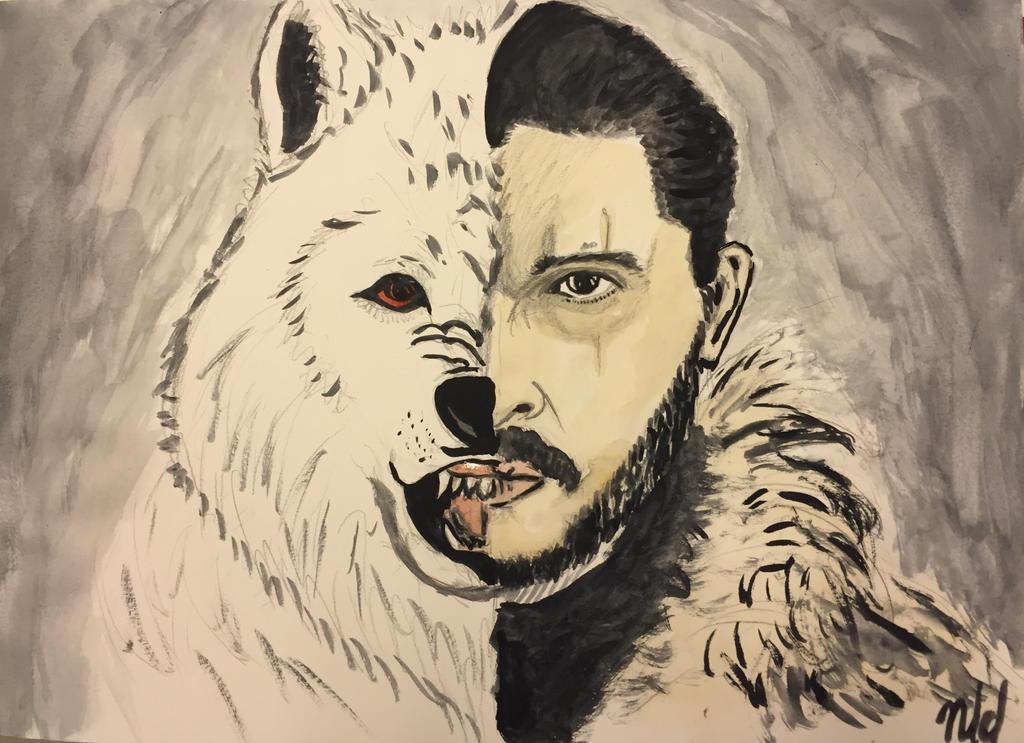 Jon Ghost by Nindyr