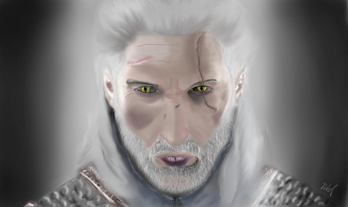Geralt by Nindyr