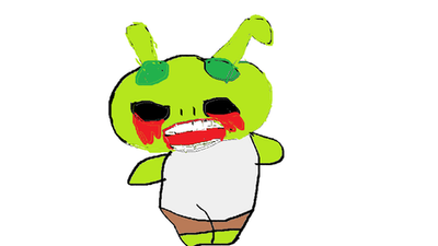 Shitty Shrek Pic by HeartBlissMaid