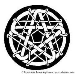 Knotwork Pentacle