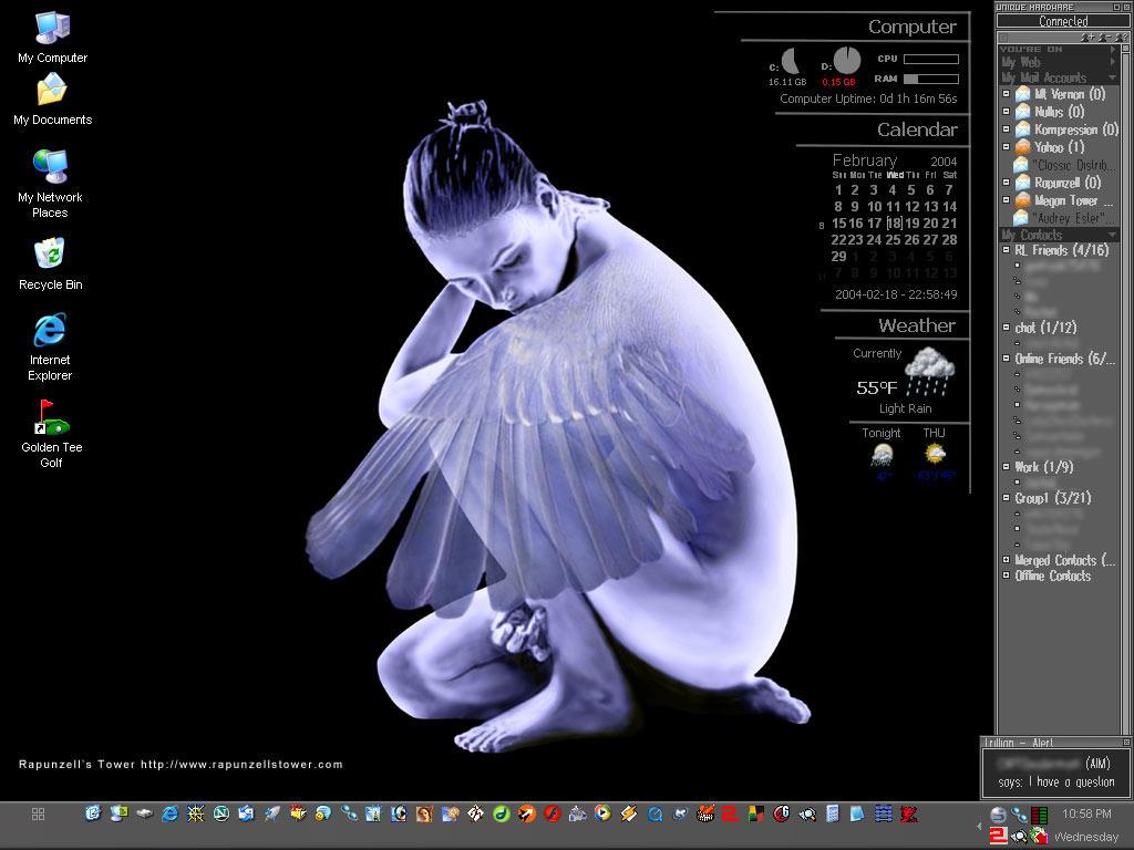 Rapunzell's Desktop