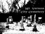 Mt. Vernon City Cemetery