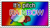 STAMP_Pitch RAINBOW by The-Cactus-Runner