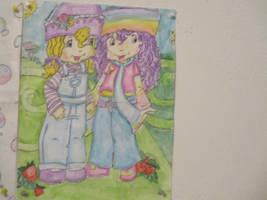 ::New!:: Angel cake and Rainbow Sherbert by ARaeann123
