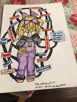 The chains of my darkest emotions and fears