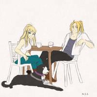 Coffe Date by MikaTsukamae
