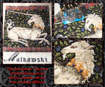 The Last Unicorn Tapestry