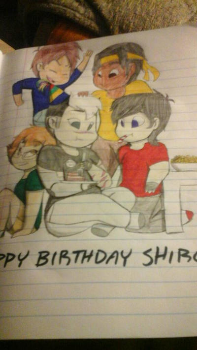 Happy Birthday to Shiro by OmegaBenae