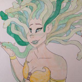 Medusa by OmegaBenae