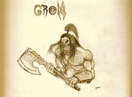 Grom Hellscream by qnop