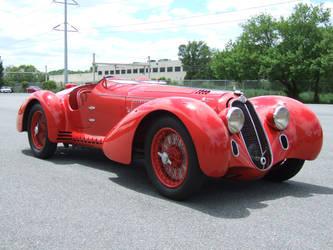 1938 Alfa-Romeo 8C2900MM by Aya-Wavedancer
