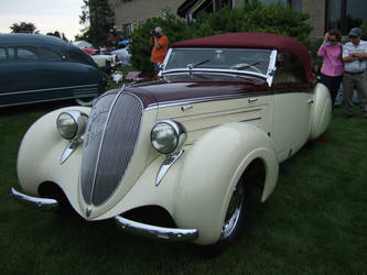 1938 Steyr 220 Roadster, Glaser coachwork by Aya-Wavedancer