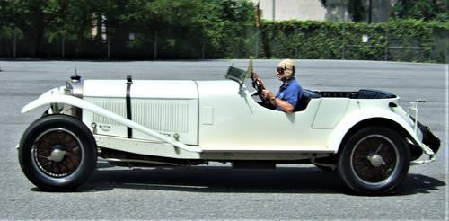 1927 Mercedes-Benz Sportwagen in action