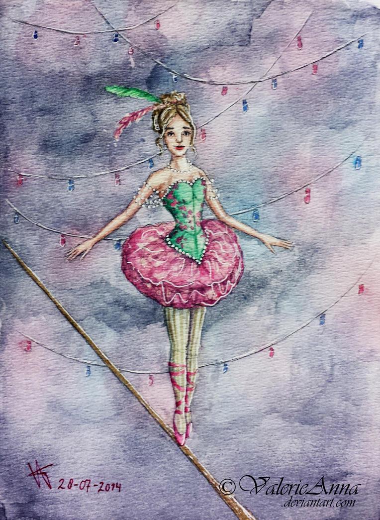 Rope Dancer by ValerieAnna