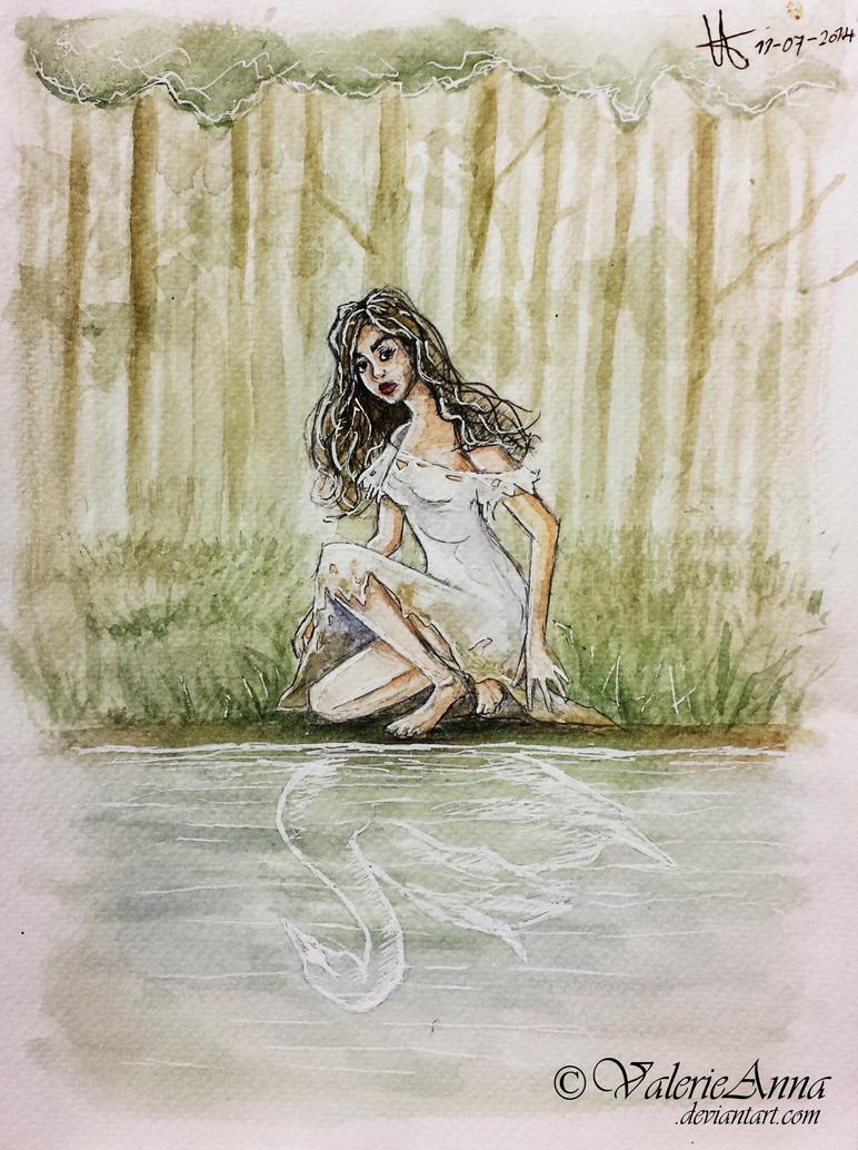Swan by ValerieAnna