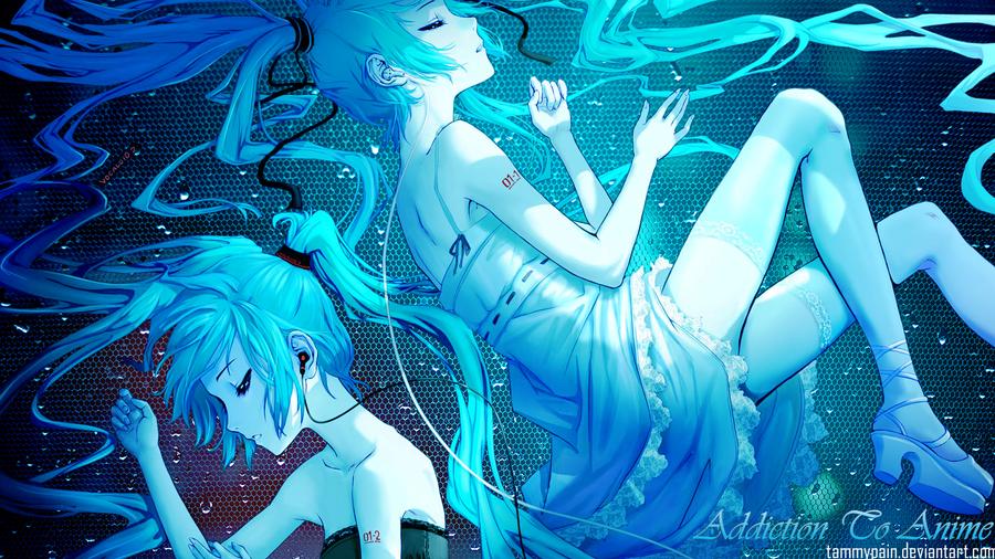 Miku Hatsune Wallpaper 3 By Tammypain