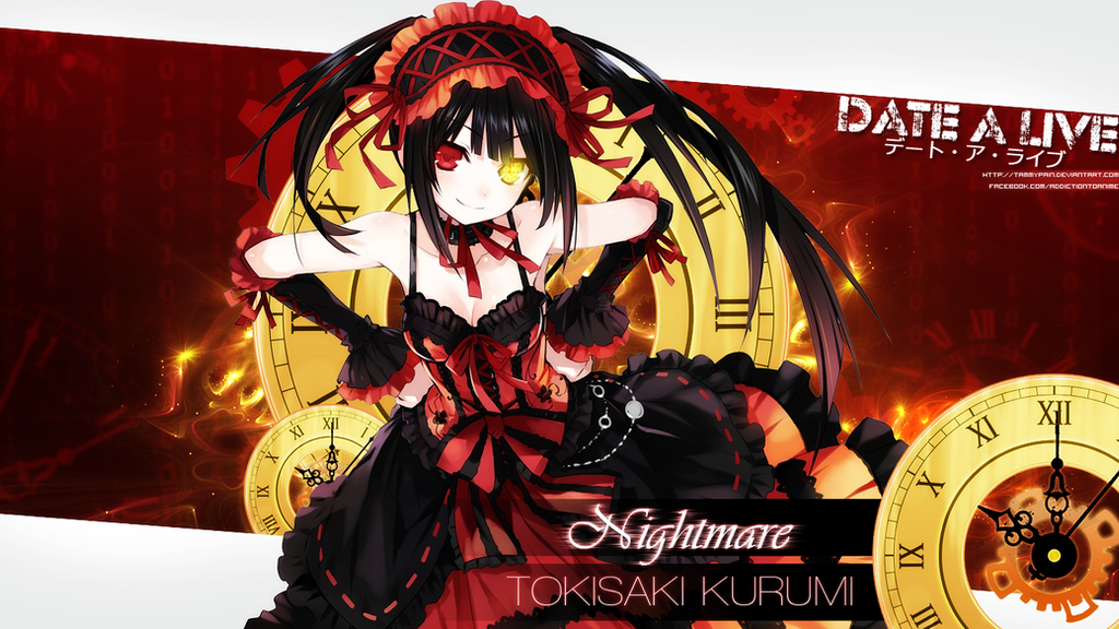 Date A Live Tokisaki Kurumi Wallpaper By Tammypain