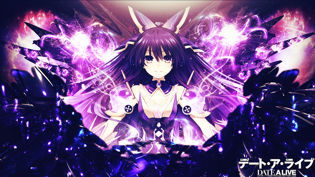 Yatogami Tohka Wallpaper by tammypain on DeviantArt Date A Live Tohka Wallpaper