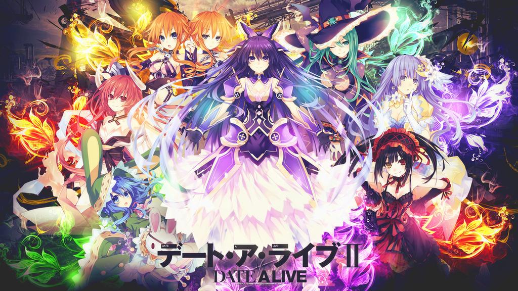 Kurumi - Date a Live Wallpaper by Siimeo on DeviantArt
