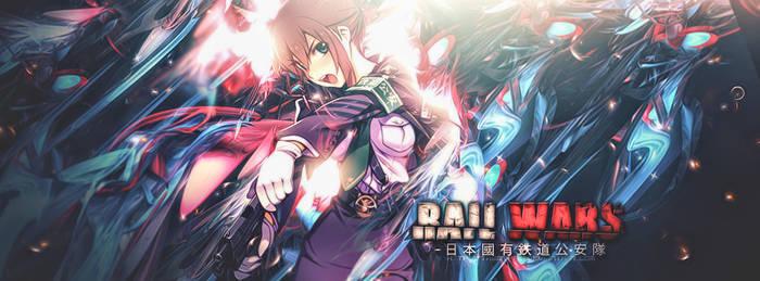 Rail Wars -Izuna-tan Hangover-