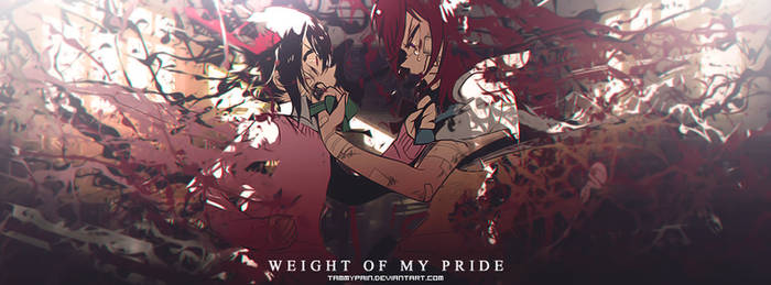 Weight of my pride