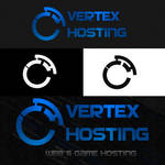 Vertex Hosting Logo