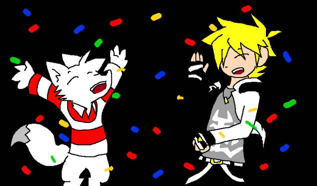 Joyeux Anniversaire ! by Hokyokkugitsune