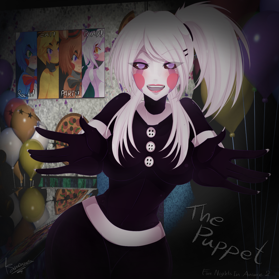 Five nights in anime fanfiction