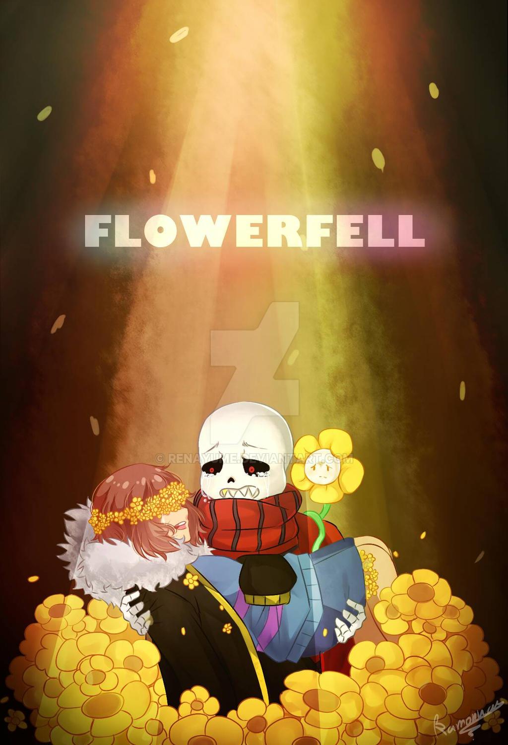 flowerfell by renayume watch fan art digital art drawings games 2016 ...: renayume.deviantart.com/art/Flowerfell-601550574