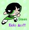 Green Kicks Ass by frangg23