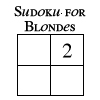 Sudoku For Blondes by frangg23