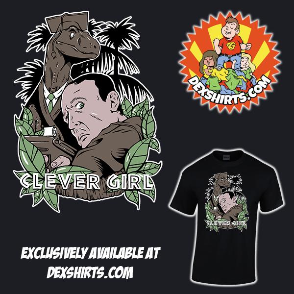 Clever Girl: Dexshirts (DexShirts)