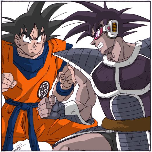 Goku Vs Turles By Yurius06 On DeviantArt