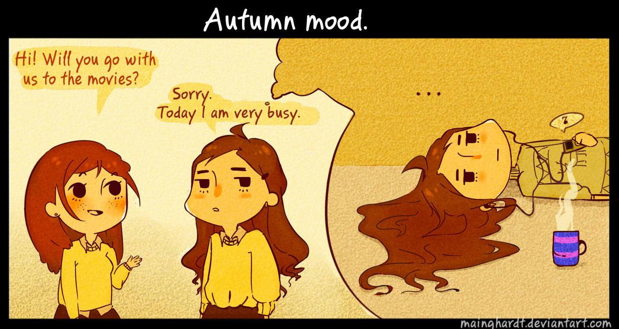 Autumn mood. by Mainghardt