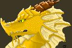 Dragon Pixel Bust by Ventous