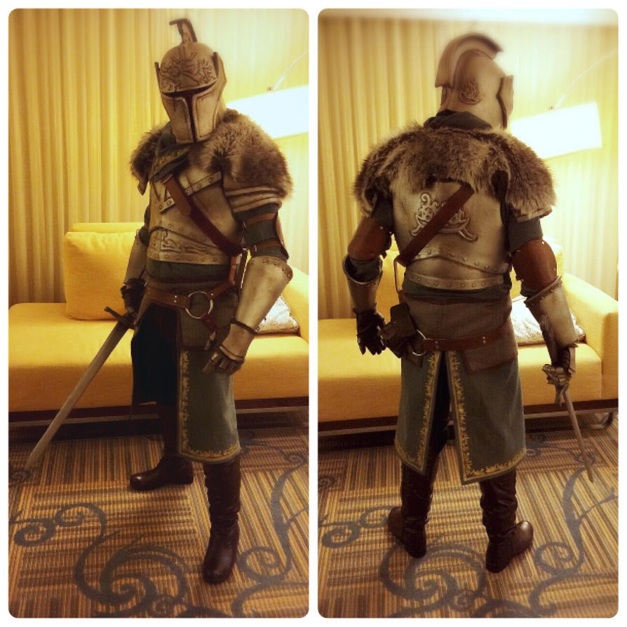 dark souls ii faraam knight cosplay ax 2014 by