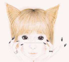 Japanese Cat Girl